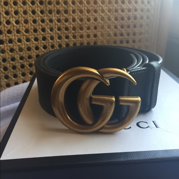 4ef81769293 Gucci Accessories - Black Leather Gucci Belt. 110 cm